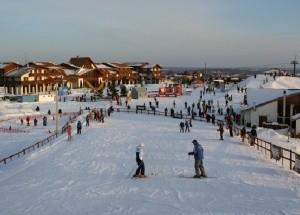 Горнолыжный курорт в Степаново: парк «Волен»