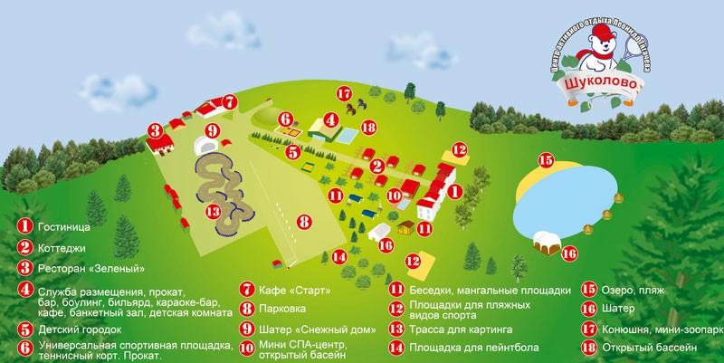 Схема клуба Леонида Тягачева