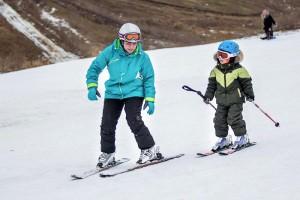 Техника катания на горных лыжах