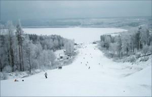 Горнолыжный курорт «Красное озеро» в Коробицыно