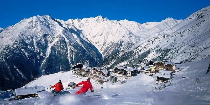 Горнолыжный отдых в Австрии