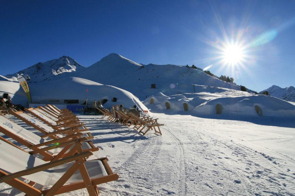 Горнолыжный курорт Майрхофен Австрия