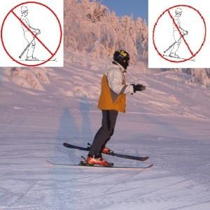 Стили катания на горных лыжах