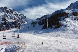 Казахстан горнолыжный курорт Чимбулак