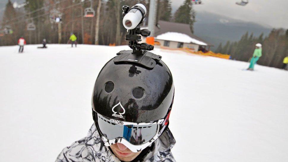 Как выбрать камеру на горнолыжный шлем