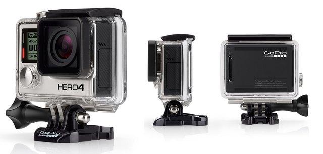 Камера GoPro Hero 4 Black на горнолыжный шлем