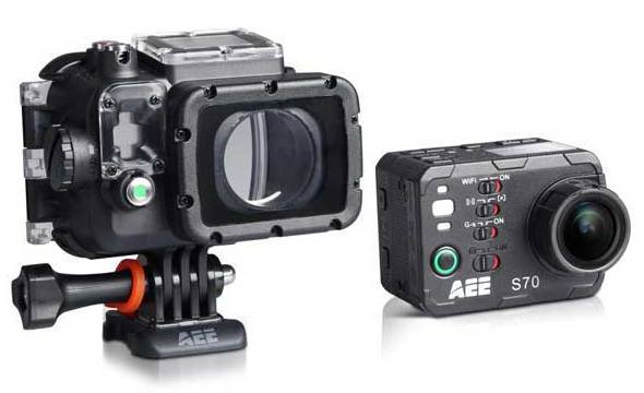Камера AEE Magicam S70 на горнолыжный шлем