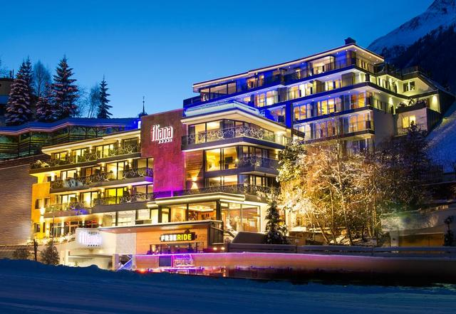 Отель Fliana Ischgl, горнолыжный курорт Ишгль
