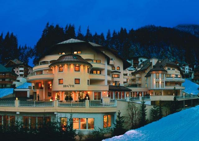 Hotel Brigitte, горнолыжный курорт Ишгль