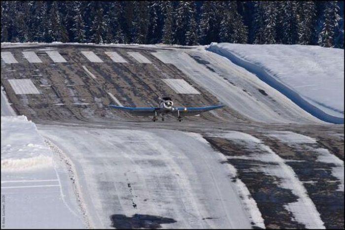 Опасный аэропорт в Куршевеле