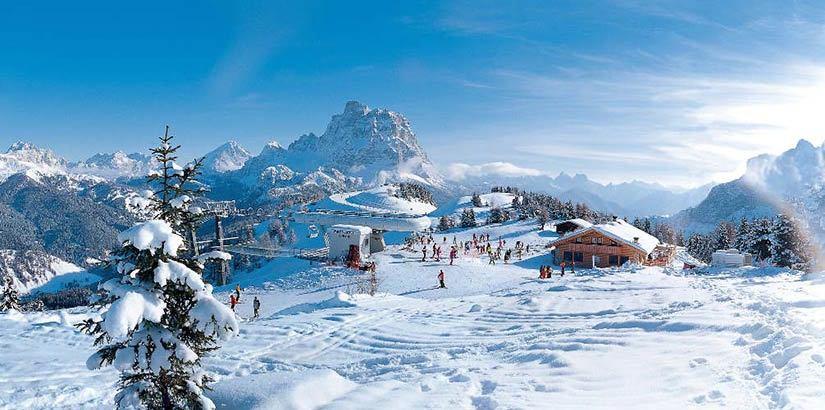 Горнолыжные курорты в Доломитовых Альпах, Италия: трассы, цены, инфраструктура, фото