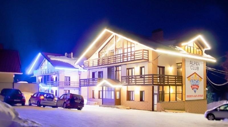 Alpen Club: хорошая гостиница рядом с горнолыжным курортом Шерегеш