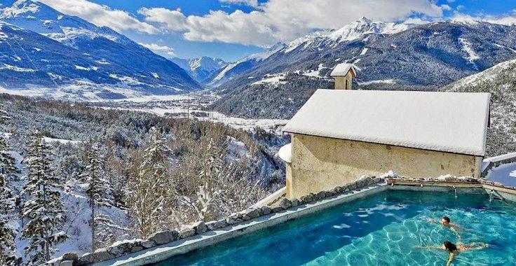Горнолыжный курорт Бормио в Италии: трассы, термы, отели