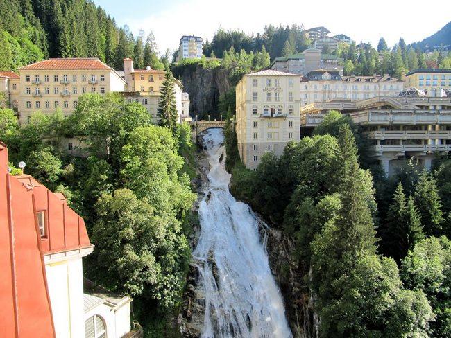 Водопад в Бад Гаштайне