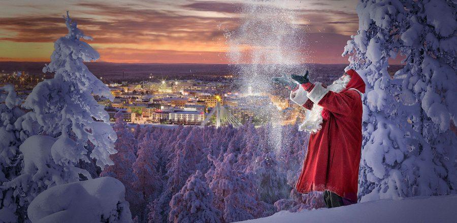 Горнолыжный курорт Рованиеми в Финляндии: цены, трассы, достопримечательности, отели, фото и видео