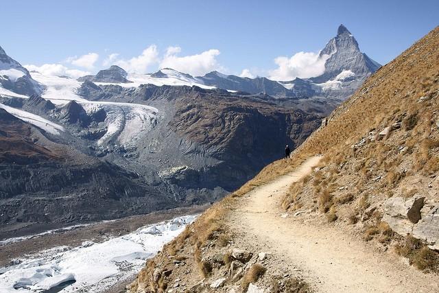 Ледник Горнер ипик Монте-Роза, Швейцария