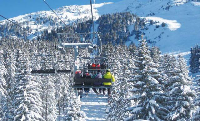 Трассы, склоны иподъемники на горнолыжном курорте Мерибель