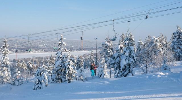 Погода и горнолыжный сезон в Рованиеми
