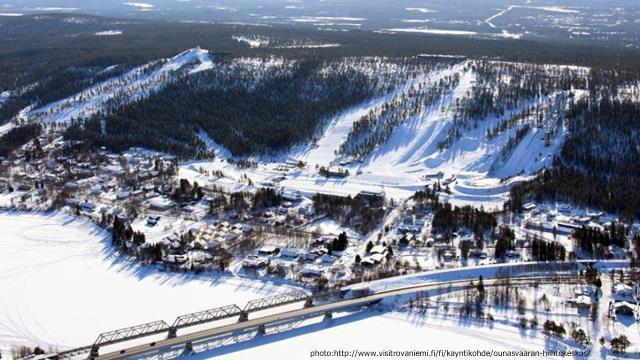 О городе Рованиеми в Финляндии