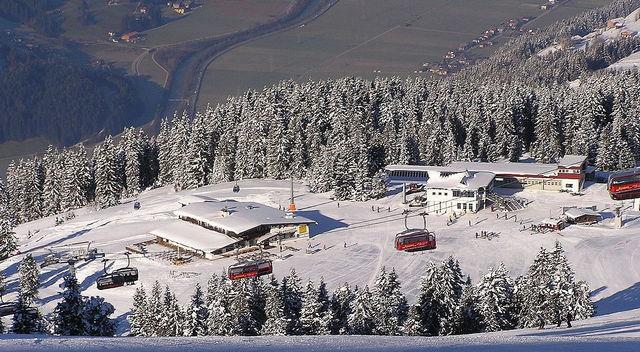 Горнолыжный курорт Циллерталь Арена в Австрии