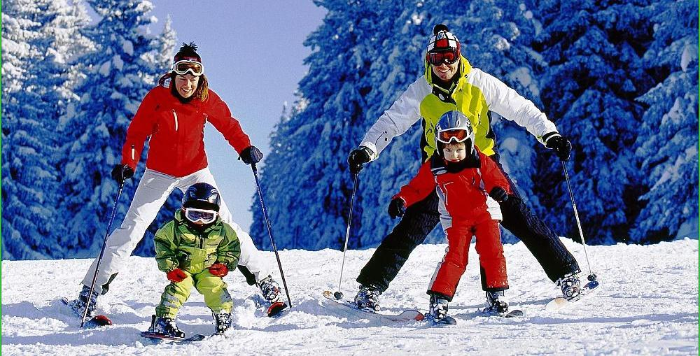 Правила техники безопасности при катании на горных лыжах