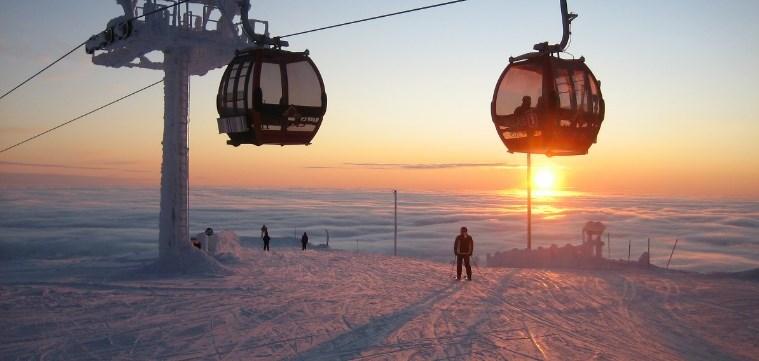 Горнолыжный курорт Юлляс в Финляндии: погода, трассы, цены, карта, фото и видео