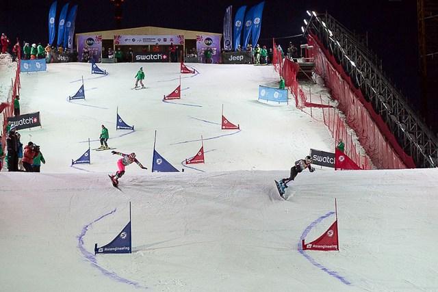 Параллельный слалом на сноуборде