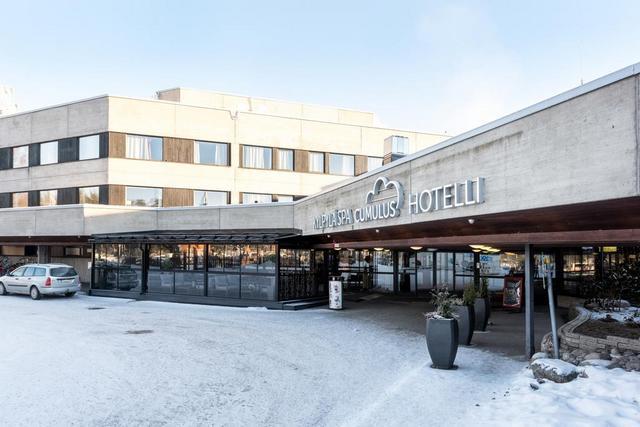 Отель Cumulus Resort Laajavuori, горнолыжный курорт Лааявуори, Ювяскуля, Финлиндия