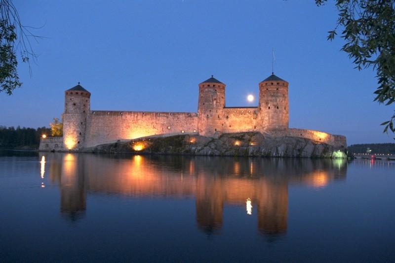Замок Савонлинна, Финляндия