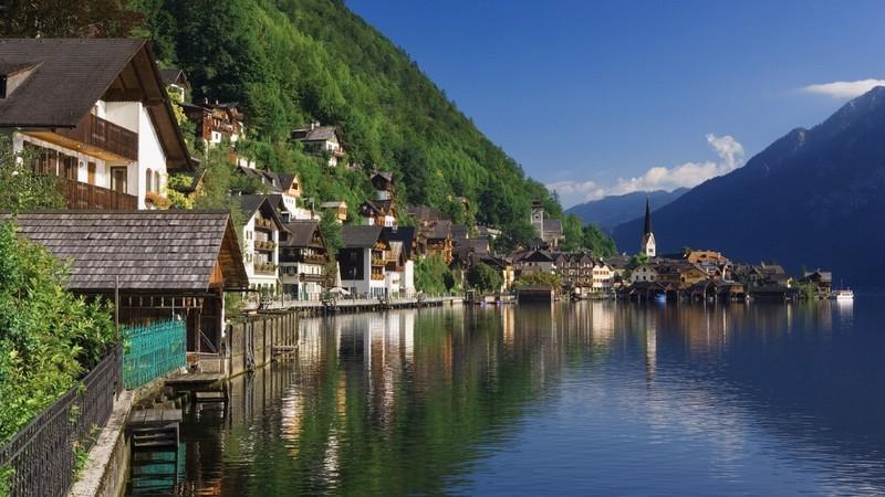 Озера Каринтии в Австрии