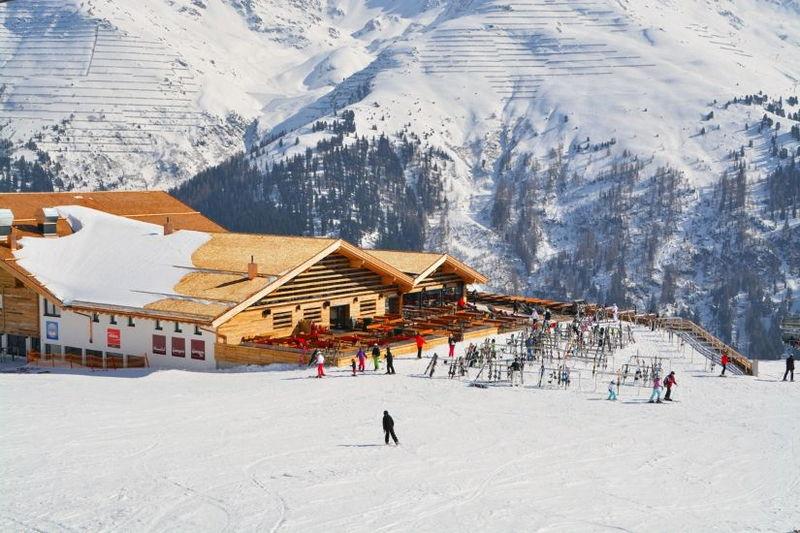 Горнолыжный курорт Санкт-Антон, Австрия
