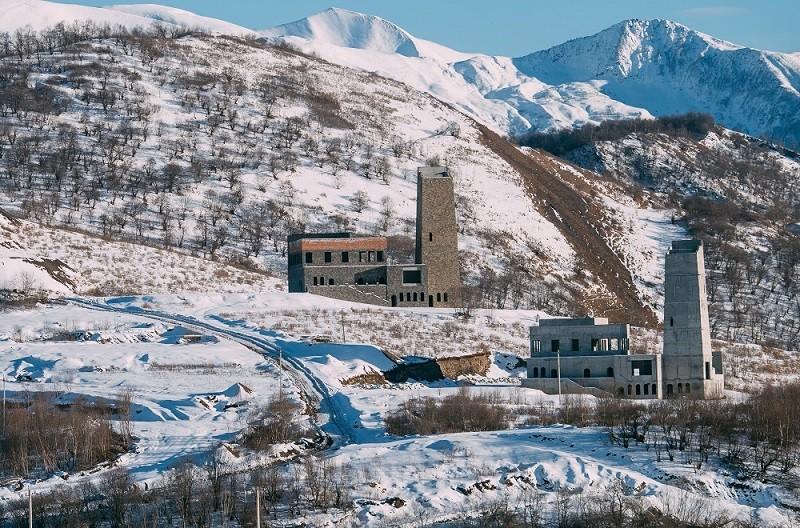 Горнолыжный курорт Ведучи в Чеченской республике