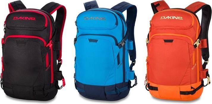 горнолыжные рюкзаки Dakine