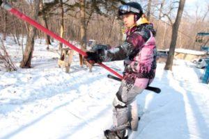 Когда сноубордисту можно начинать осваивать бугель