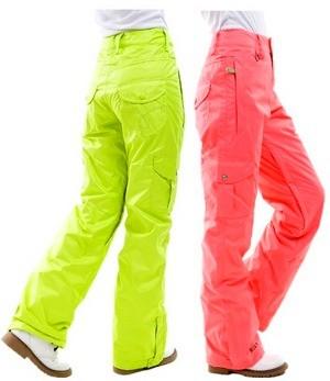 Штаны для горных лыж женские