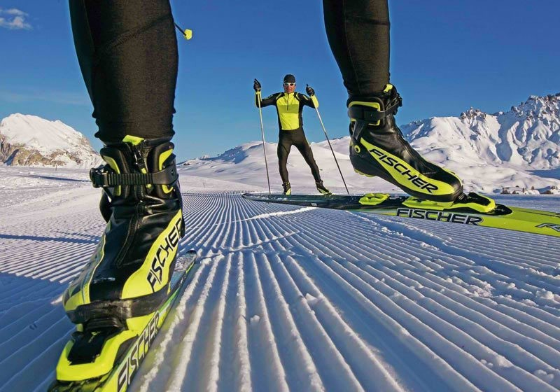 Лыжи для конкькового хода— особенности
