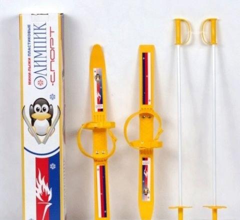 Лыжи для детей до 3 лет