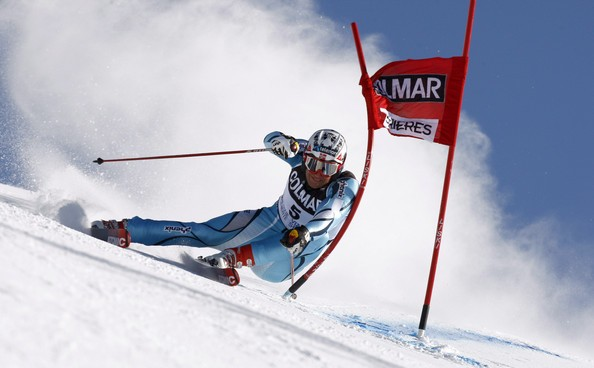 Техника слалома нагорных лыжах