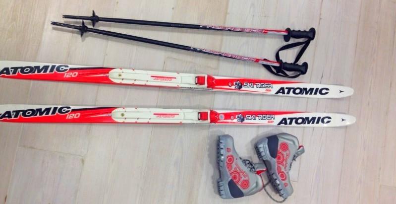 Беговые лыжи Atomic