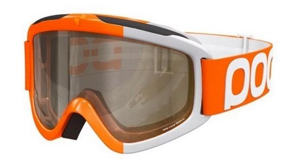 Горнолыжная маска оранжевая