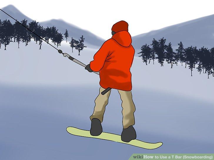 Как правильно подниматься на бугельном подъемнике на сноуборде