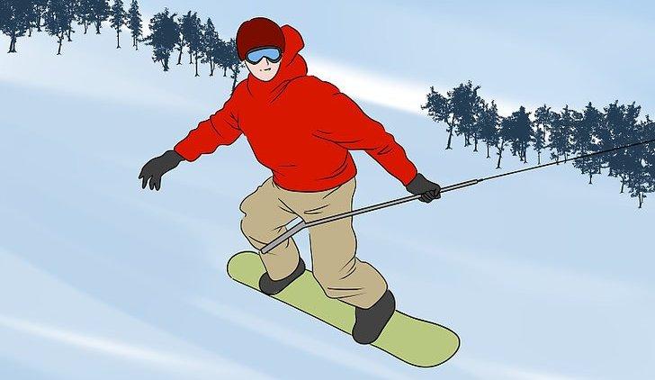 Как подниматься на бугельном подъемнике на сноуборде: правила и техника безопасности