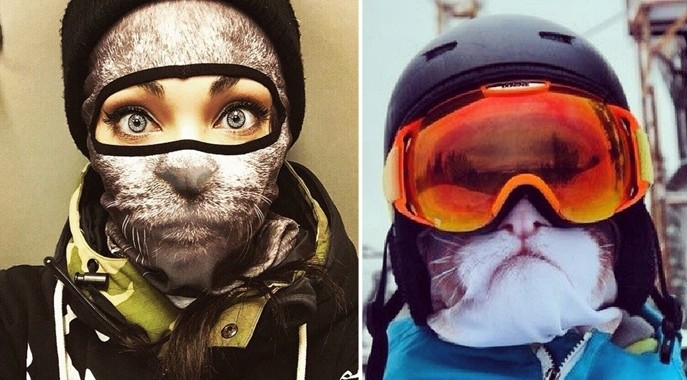 Маска и балаклава - защита лица лыжника и сноубордиста