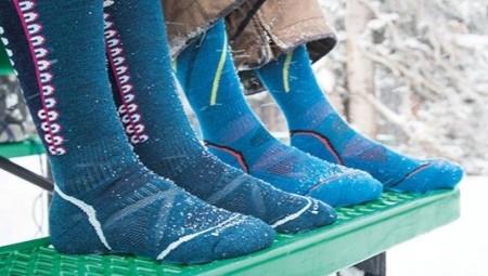 Горнолыжные носки - лучшие бренды