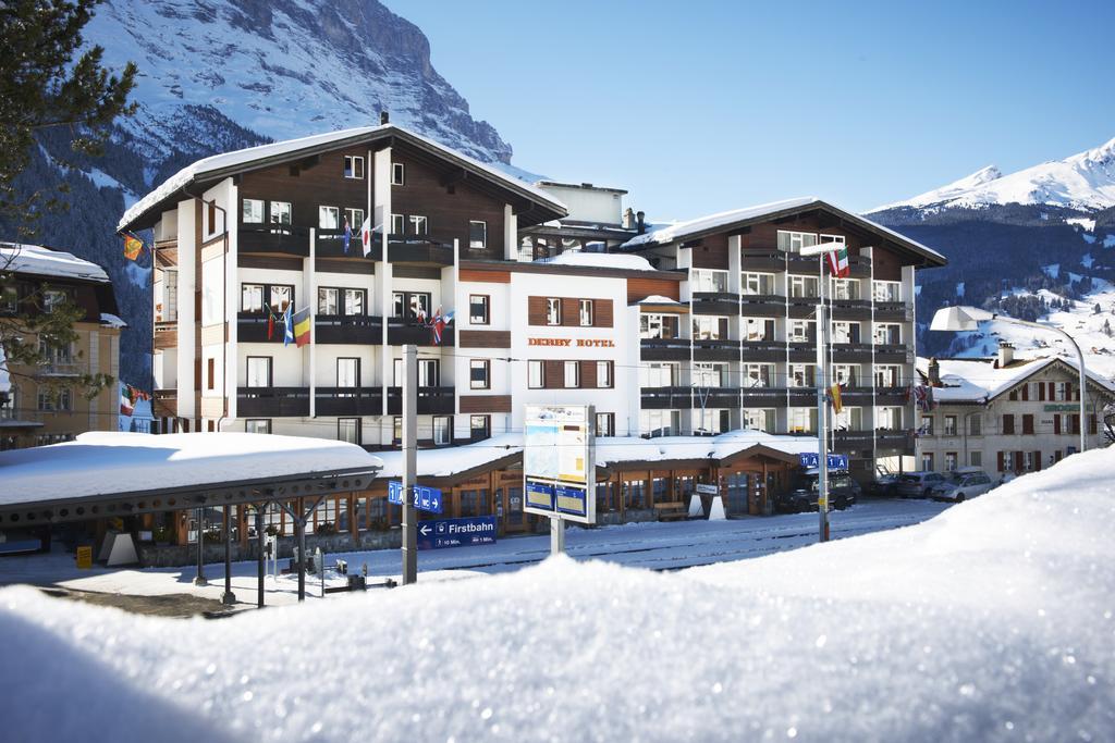 Отели на горнолыжном курорте Гриндельвальд: Derby Swiss Quality Hotel
