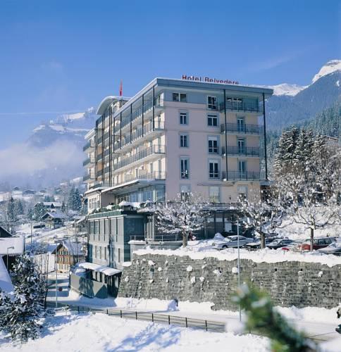 Отели на горнолыжном курорте Гриндельвальд: Belvedere Swiss Quality Hotel