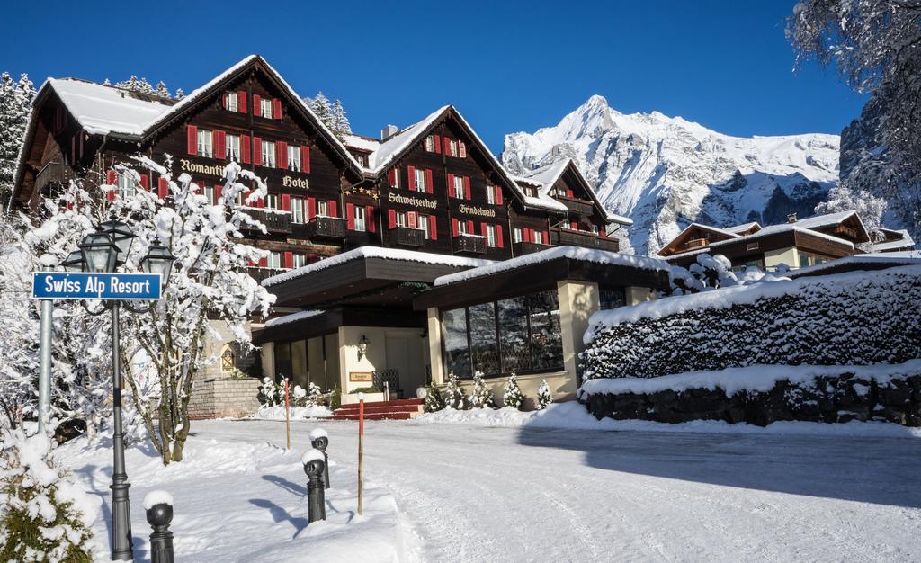 Отели на горнолыжном курорте Гриндельвальд: Romantik Hotel Schweizerhof