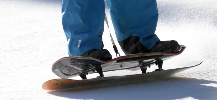 Как кататься на сноускейте