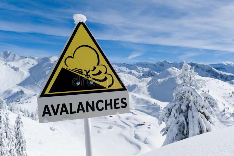 Причины возникновения снежной лавины