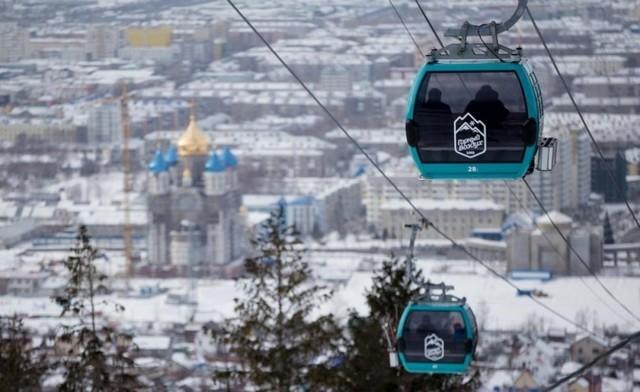 """Горнолыжный курорт СТК """"Горный воздух"""" на Сахалине: подъемники"""
